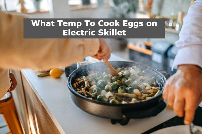 What Temp To Cook Eggs on Electric Skillet